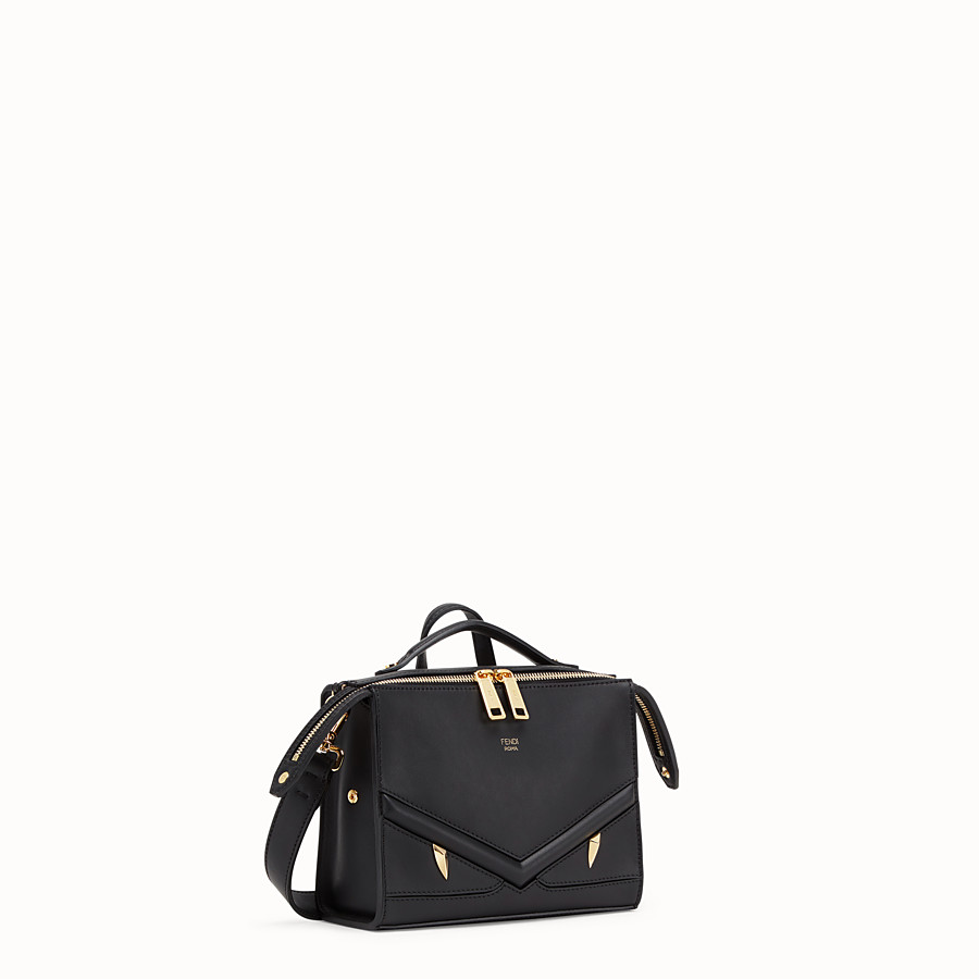 FENDI MINI LUI BAG - Black leather bag - view 2 detail
