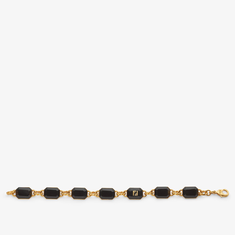 FENDI FF ONYX BRACELET - Gold-colored bracelet - view 1 detail