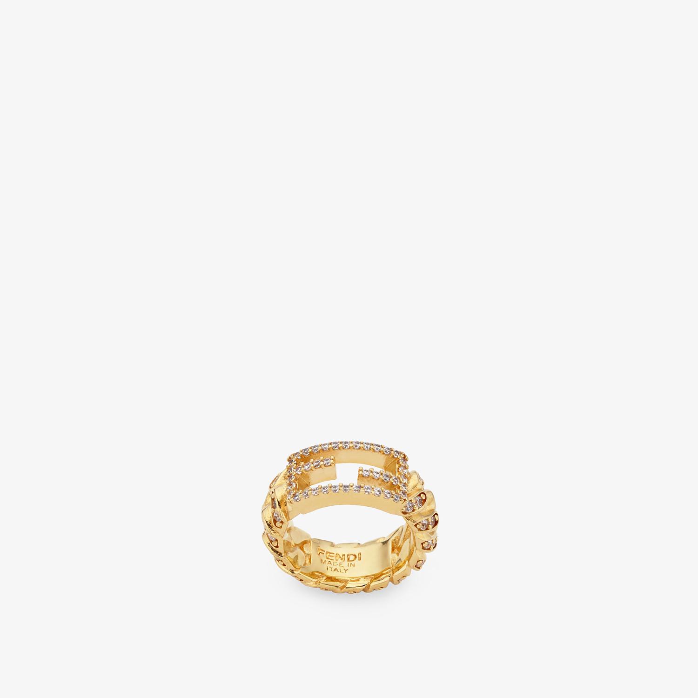FENDI BAGUETTE RING LARGE - Ring Goldfarben - view 1 detail