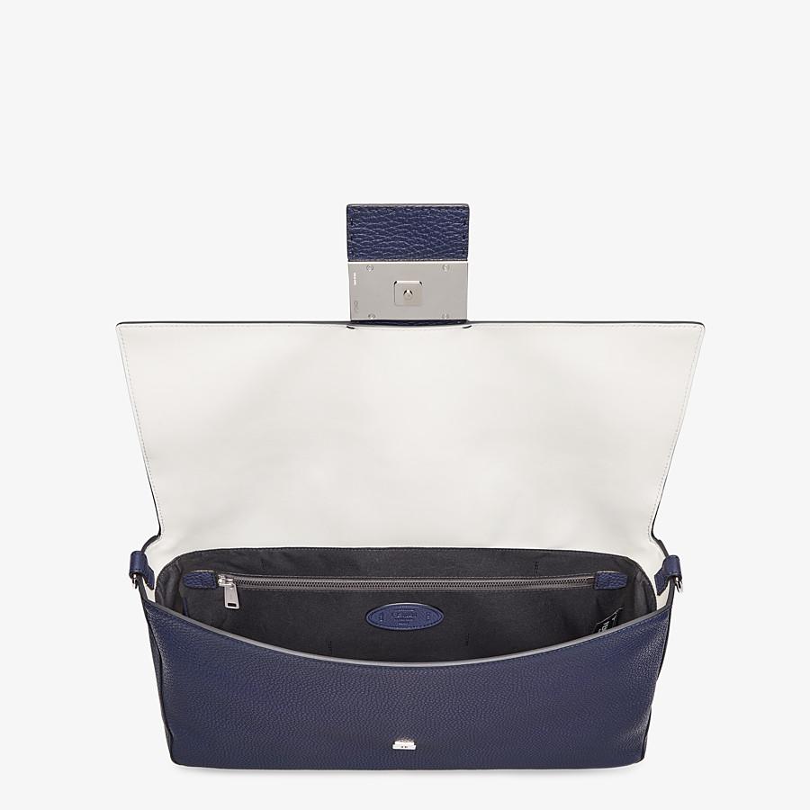 FENDI BAGUETTE - Tasche aus Leder in Blau - view 5 detail