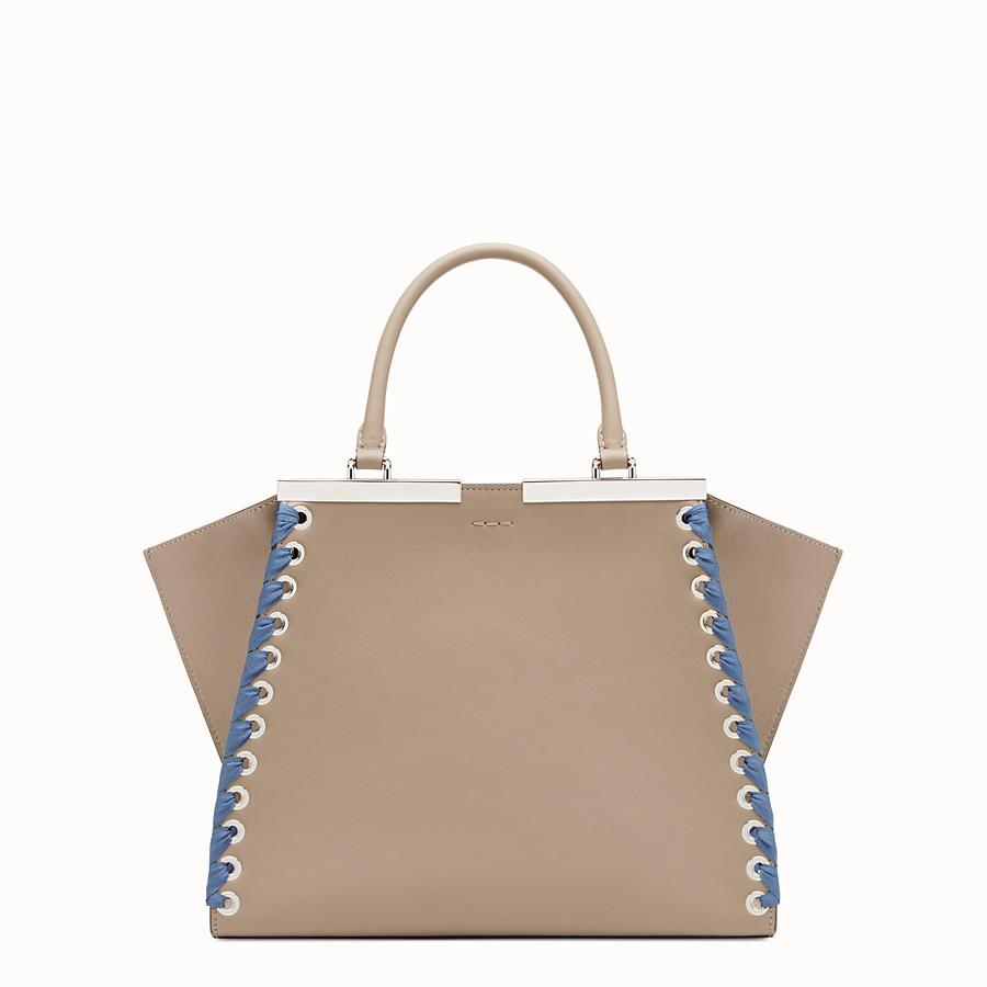 FENDI 3JOURS - Beige leather bag - view 3 detail