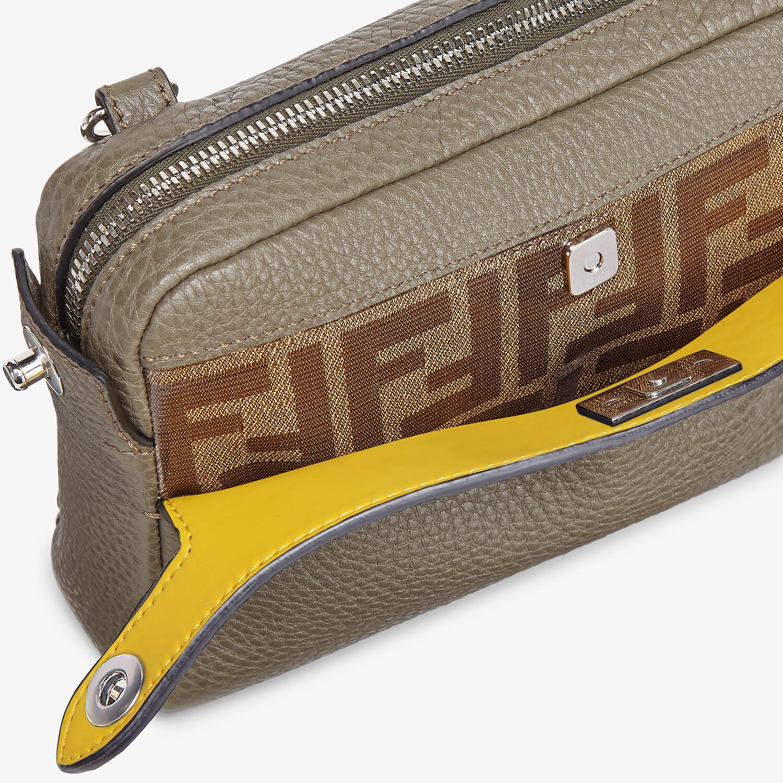 FENDI BELT BAG - Green leather belt bag - view 7 detail