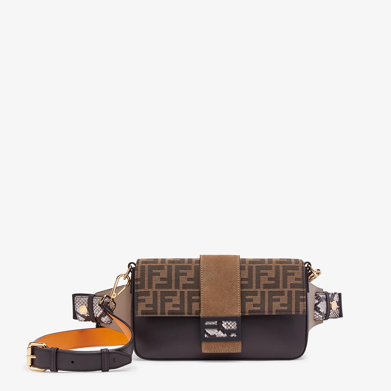 FENDI BAGUETTE - Brown calfskin bag - view 1 detail
