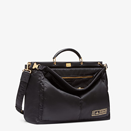 FENDI PEEKABOO MEDIUM FENDI AND PORTER - Black nylon bag - view 2 thumbnail