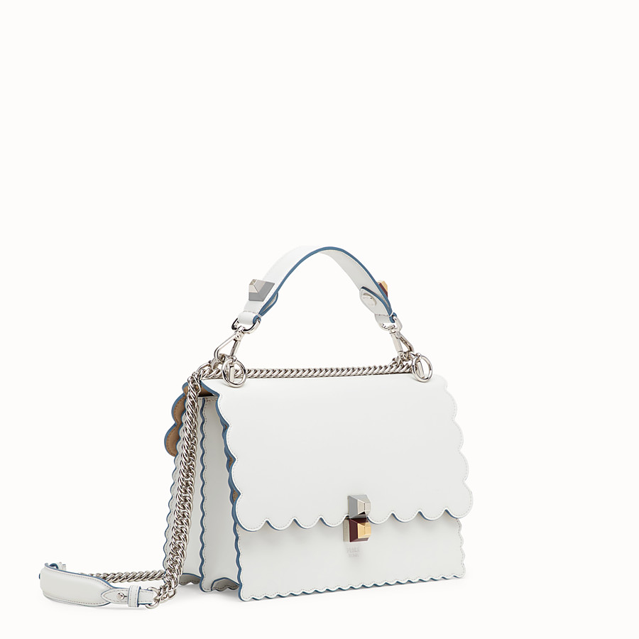 FENDI KAN I - White leather bag - view 2 detail