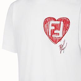FENDI T-SHIRT - T-Shirt Karl Lagerfeld Limited Edition - view 3 thumbnail