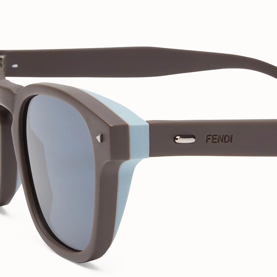 FENDI I SEE YOU - Dove grey sunglasses - view 3 detail