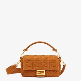 FENDI BAGUETTE - Brown terrycloth bag - view 1 thumbnail