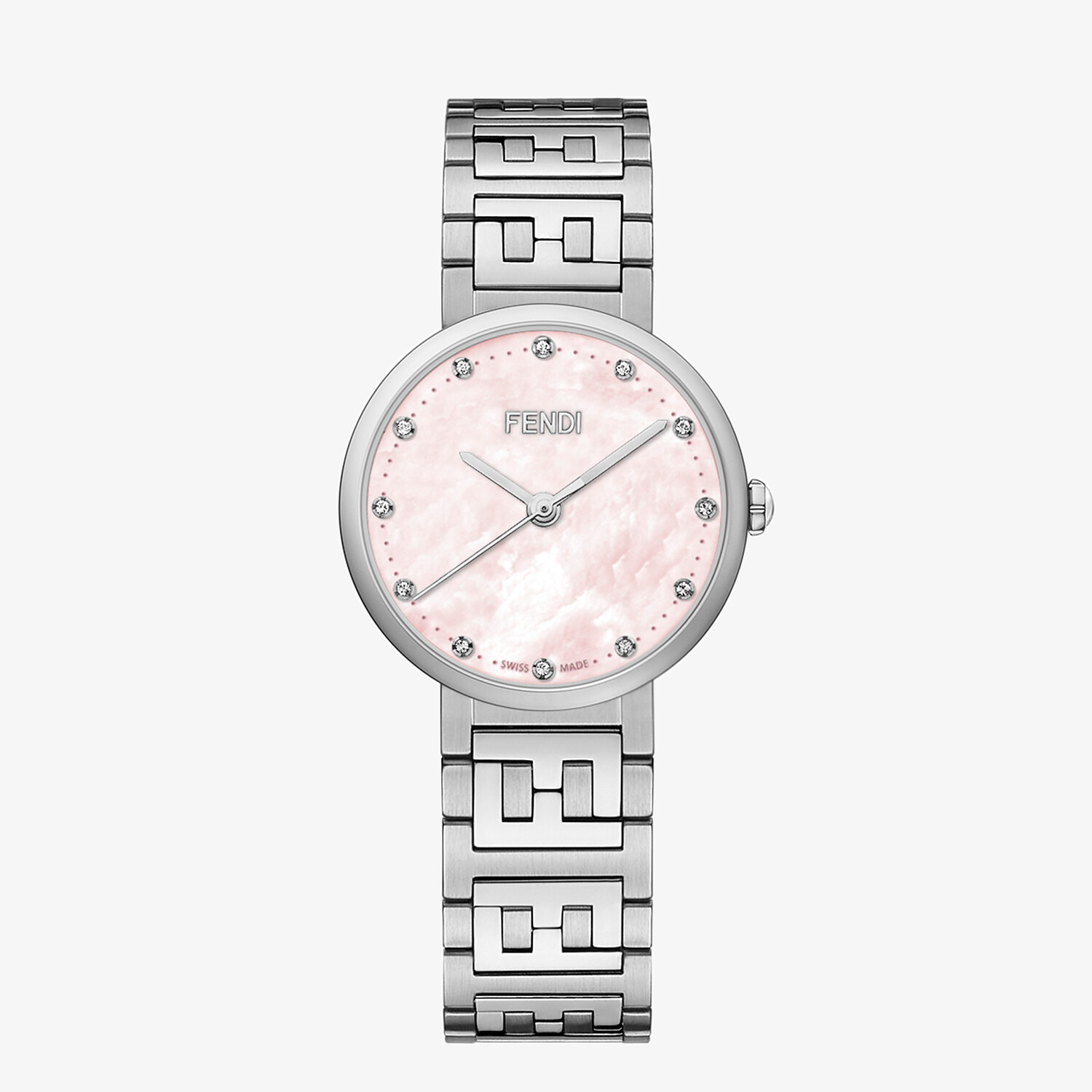 FENDI FOREVER FENDI - 29 MM – Watch with FF logo bracelet - view 1 detail