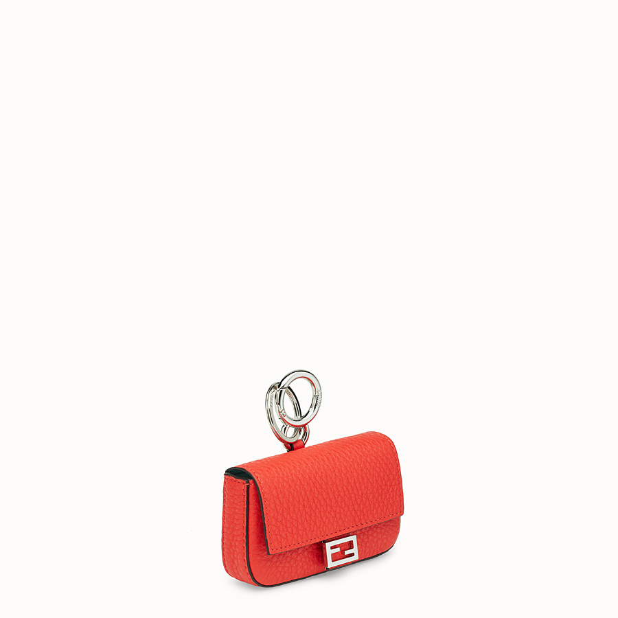 FENDI MICRO BAGUETTE CHARM - Fendi Roma Amor leather charm - view 2 detail