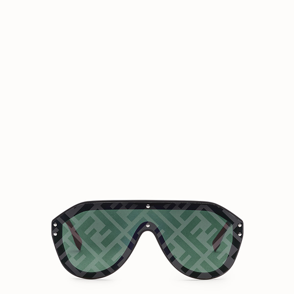 FENDI FENDI FABULOUS - Fashion Show FW18-19 black sunglasses - view 1 small thumbnail