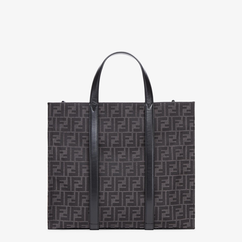 FENDI SHOPPER - FF jacquard fabric bag - view 3 detail