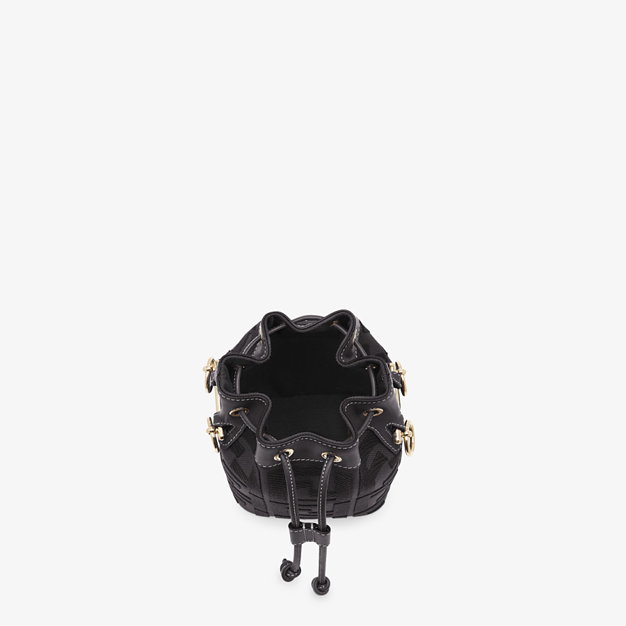 FENDI MON TRESOR - Black canvas mini-bag - view 5 detail
