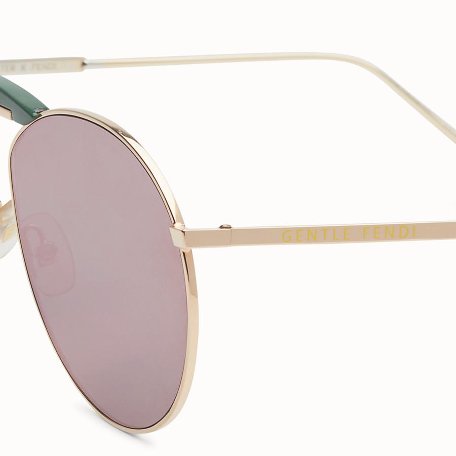 33c147806 Copper-colored sunglasses - GENTLE Fendi No. 2 | Fendi