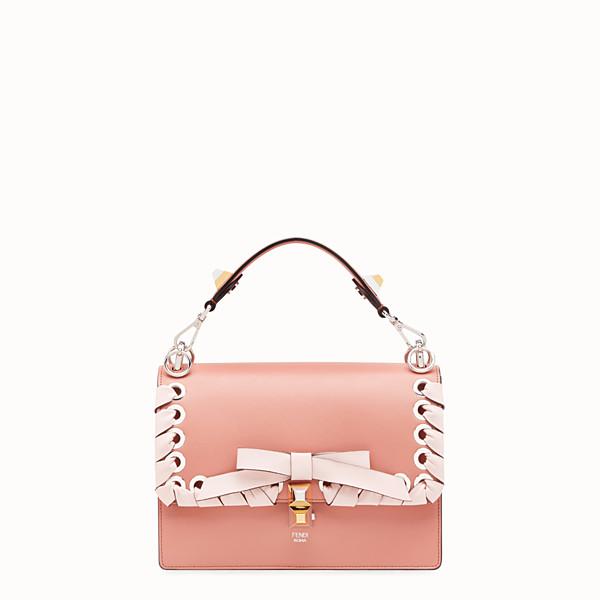 FENDI KAN I - Pink leather bag - view 1 small thumbnail