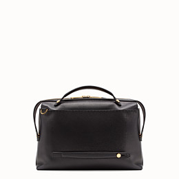 FENDI BY THE WAY - Black leather bag - view 3 thumbnail