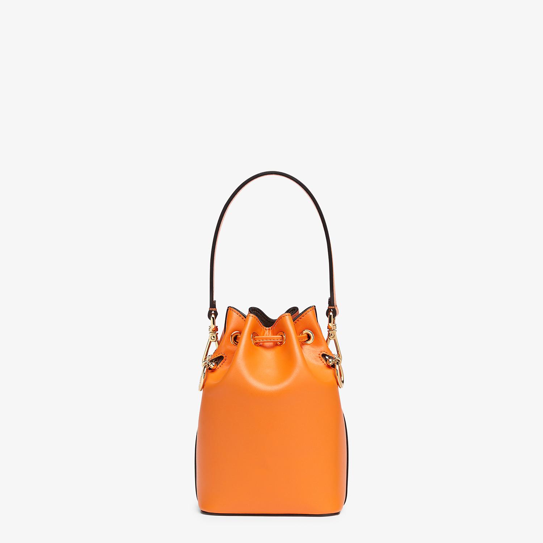FENDI MON TRESOR - Orange leather mini-bag - view 4 detail