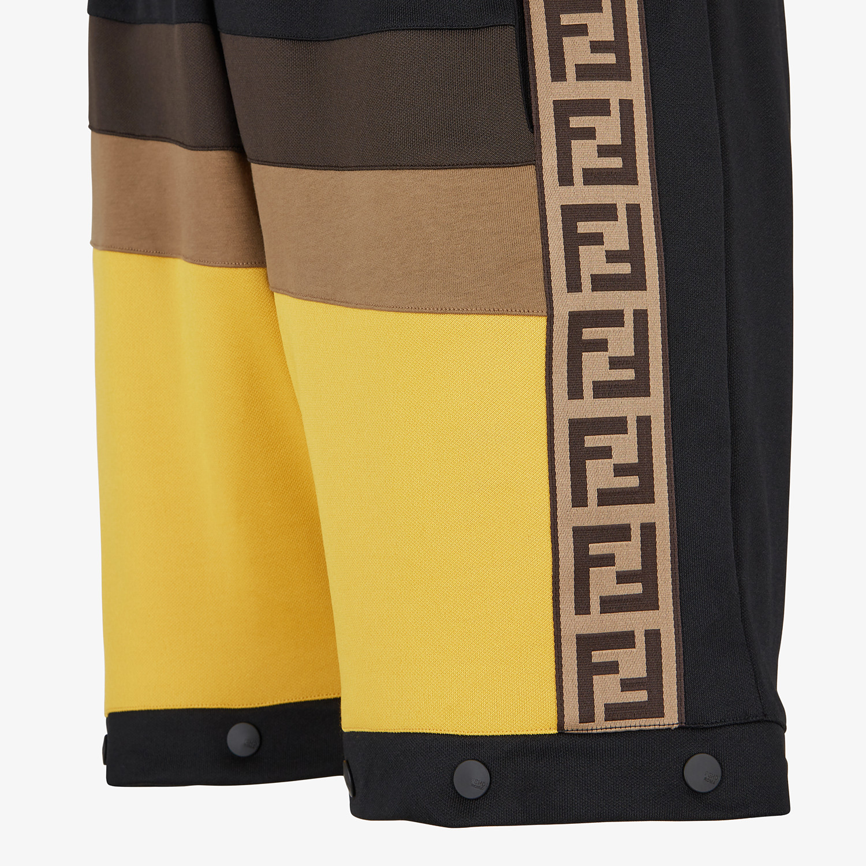 FENDI PANTS - Multicolor acetate pants - view 4 detail