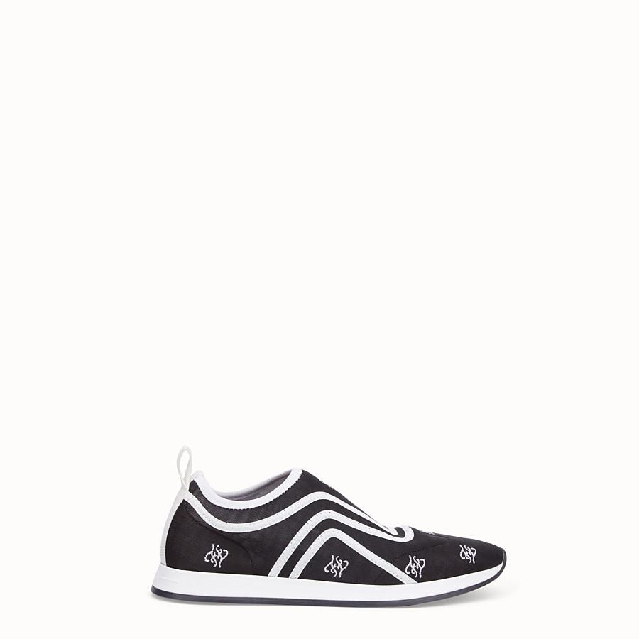 FENDI SNEAKER - Sneakers aus Netzgewebe in Schwarz - view 1 detail
