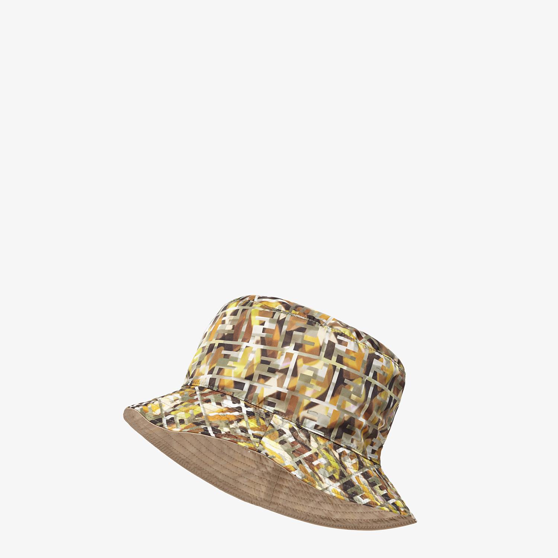 FENDI HAT - Multicolor nylon hat - view 1 detail