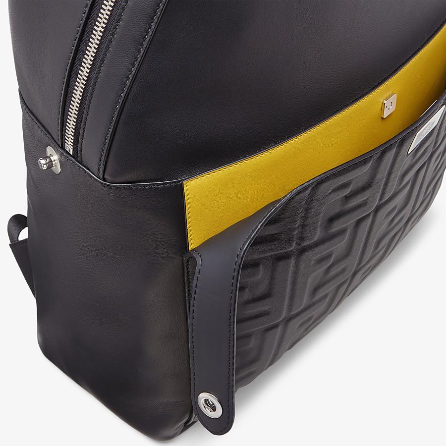 FENDI PEEKABOO BACKPACK - Black nappa leather backpack - view 5 detail