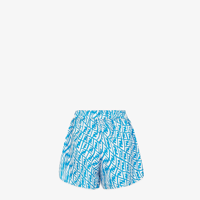 FENDI PIJAMA SET - Light blue silk pyjama set - view 5 detail