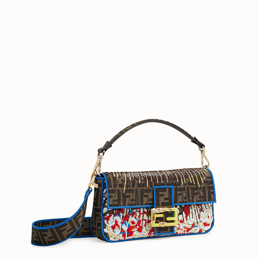 FENDI BAGUETTE - Multicolor fabric bag - view 2 detail