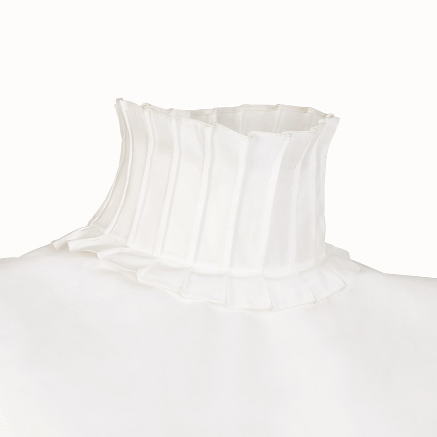 FENDI TOP - White cotton top - view 3 detail