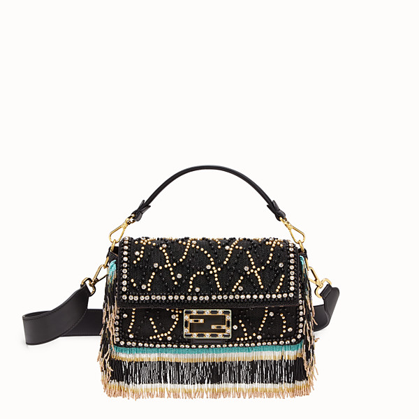 FENDI BAGUETTE - Bag with multicolor embroidery - view 1 small thumbnail