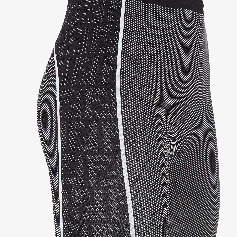 FENDI LEGGINGS - Leggings in black recycled nylon - view 3 detail