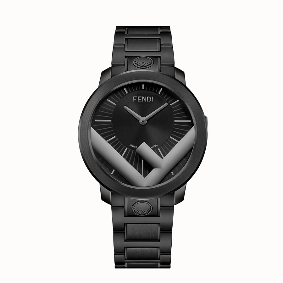 FENDI RUNAWAY - 41 mm - Watch with F is Fendi logo - view 1 detail