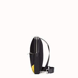 FENDI BELT BAG - Black calf leather, one-shoulder backpack - view 2 thumbnail