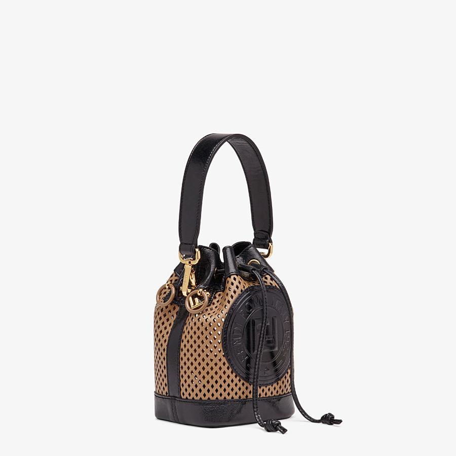 FENDI MON TRESOR - Beige leather mini-bag - view 3 detail
