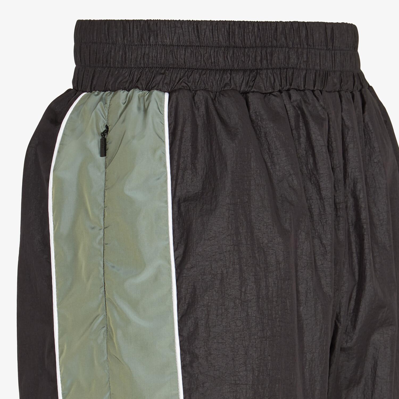 FENDI PANTS - Multicolor tech fabric pants - view 3 detail