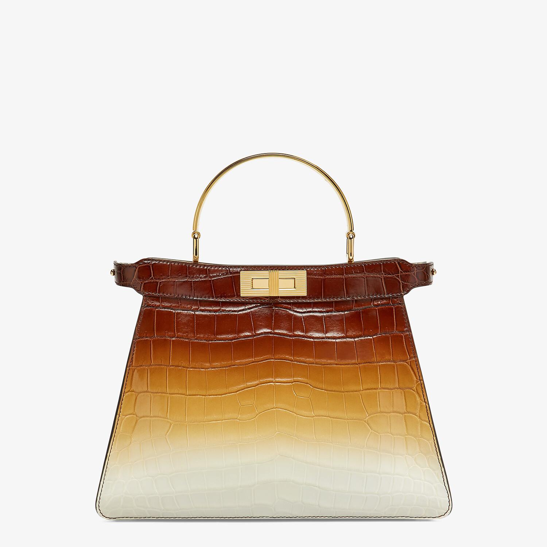 FENDI PEEKABOO ISEEU MEDIUM - Crocodile leather bag in three colors - view 1 detail