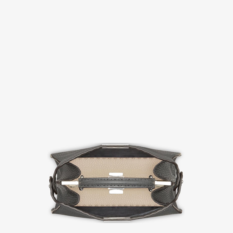 FENDI PEEKABOO I SEEU SMALL - Dark gray Selleria bag - view 4 detail
