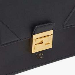 FENDI KAN U SMALL - Black leather mini-bag - view 5 thumbnail