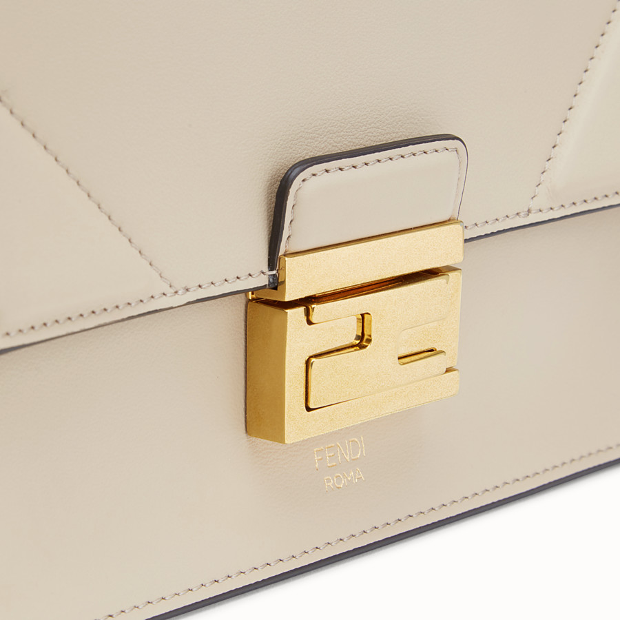 FENDI KAN U SMALL - Grey leather mini-bag - view 5 detail