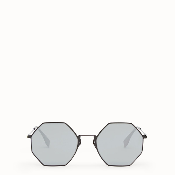 FENDI EYELINE - Black sunglasses - view 1 small thumbnail