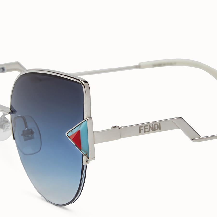 FENDI RAINBOW - Palladium-Sonnenbrille - view 3 detail