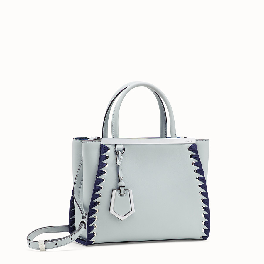 FENDI PETITE 2JOURS - Grey leather bag - view 2 detail