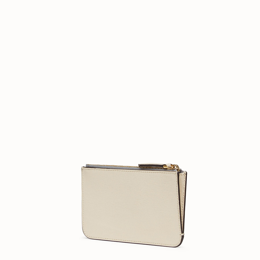 FENDI KEYRING POUCH - Multicolor leather pouch - view 2 detail