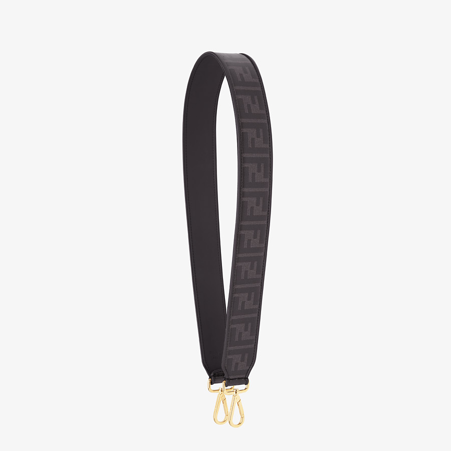 FENDI STRAP YOU - Schulterriemen aus Stoff in Schwarz - view 1 detail