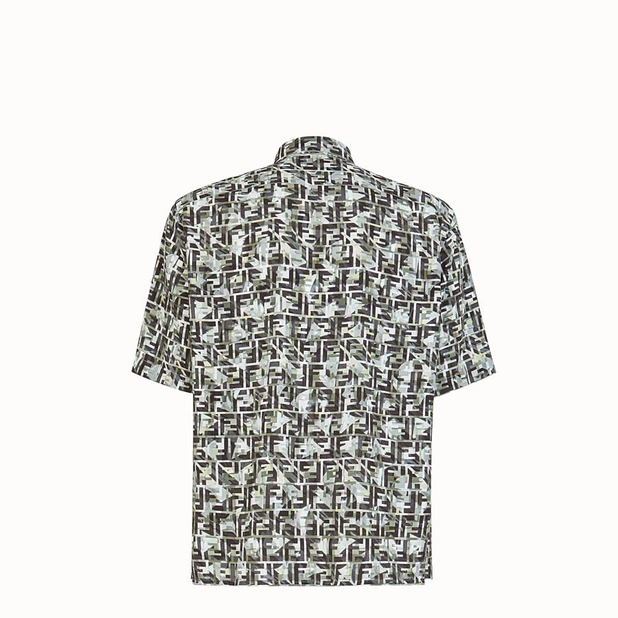 FENDI SHIRT - Multicolour viscose shirt - view 2 detail