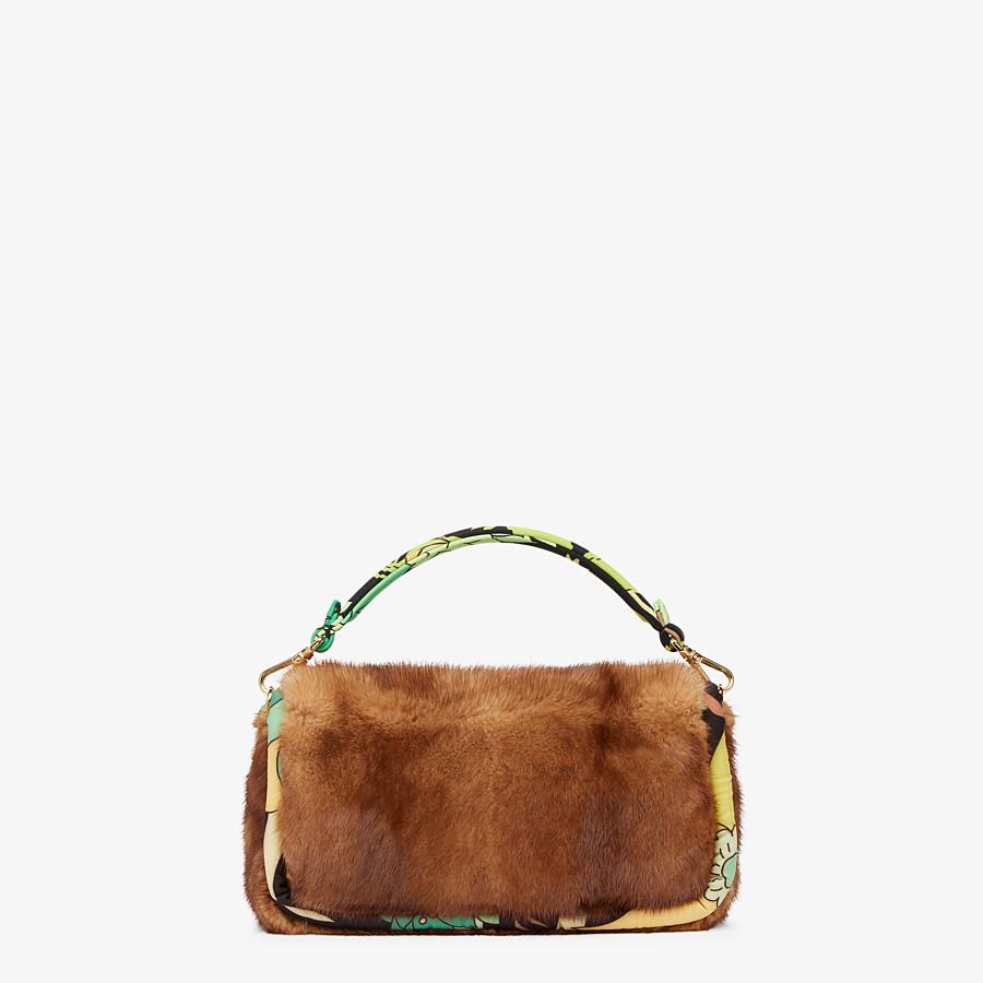 FENDI BAGUETTE - Tasche aus Nerz in Braun - view 4 detail