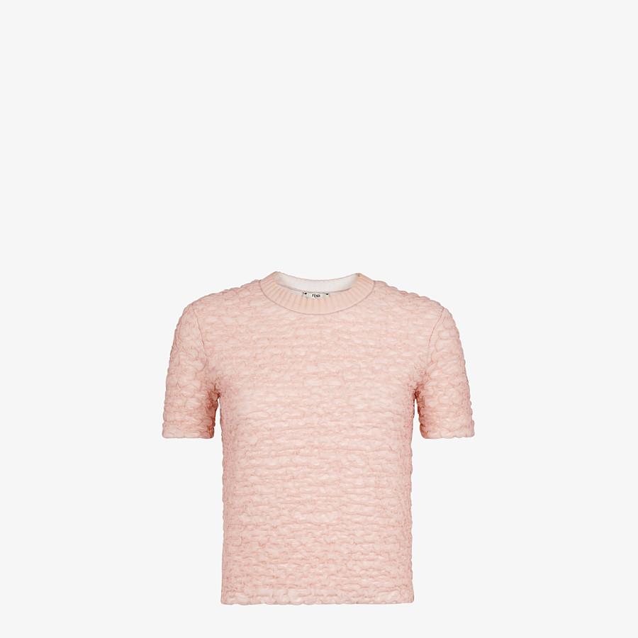 FENDI PULLOVER - Pullover aus Viskose in Rosa - view 1 detail