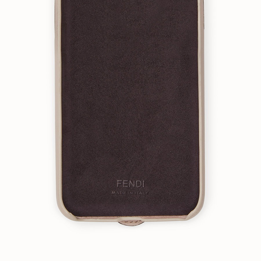 FENDI iPHONE X CASE - Pink cover - view 2 detail