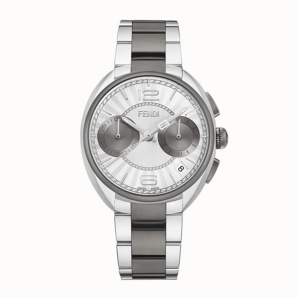 FENDI MOMENTO FENDI - 40 mm - Chronograph watch with bracelet - view 1 small thumbnail