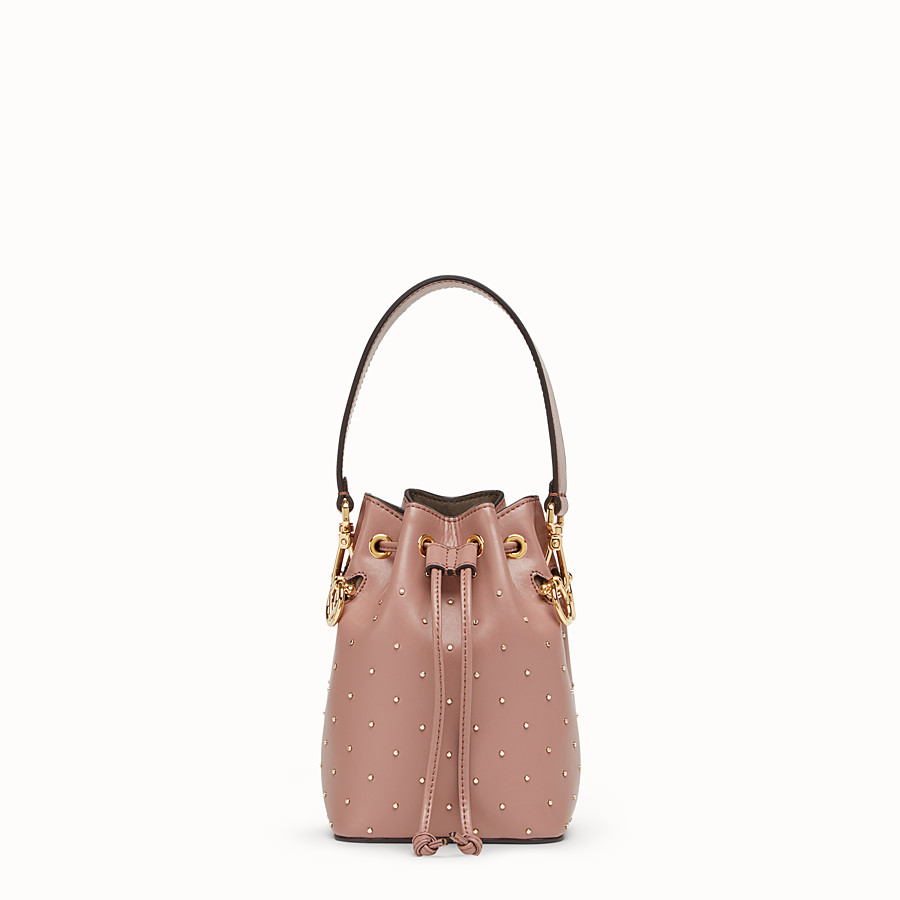 30decdff74d3 Pink leather mini-bag - MON TRESOR