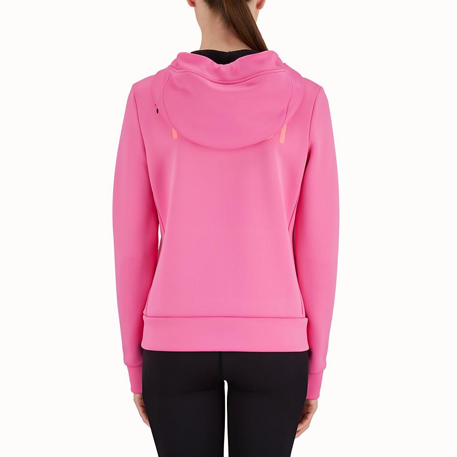 FENDI 運動衫 - 紫紅色潛水布料運動衫 - view 2 detail